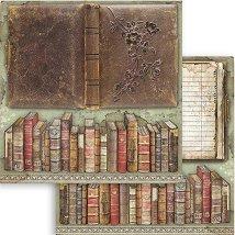 Хартия за скрапбукинг - Книги - Размери 30.5 x 30.5 cm