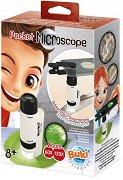 """Джобен микроскоп - Детски образователен комплект от серията """" Mini Sciences"""" - образователен комплект"""