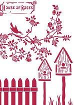 Шаблон - Къщички за птици