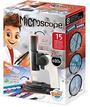 """Детски микроскоп с 15 експеримента - Образователен комплект от серията """"Научни експерименти"""" -"""