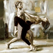 Двойка танцьори - пъзел