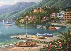 Залив край пристанището - Сонг Ким (Sung Kim) -