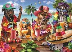 Кучета на плажа - Ейдриан Честърман - пъзел