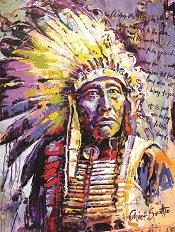 Индианец - пъзел