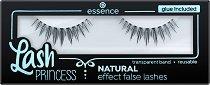 Essence Lash Princess Natural Effect False Lashes - Изкуствени мигли в комплект с лепило -