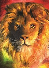 Лъв - пъзел