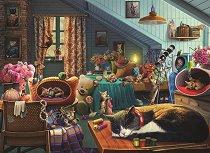 Котета в спалнята - Олга (Olga) - пъзел