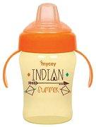Преходна чаша с мек накрайник - 180 ml - За бебета над 6 месеца -