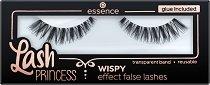 Essence Lash Princess Wispy Effect False Lashes - Изкуствени мигли в комплект с лепило - дамски превръзки