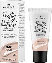 Essence Pretty Natural Hydrating Foundation - фон дьо тен