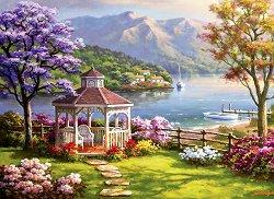 Почивка край езерото - Сонг Ким (Sung Kim) - пъзел