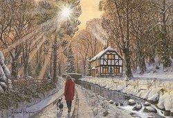 Зимна разходка - пъзел