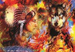 Вълчица и индианка -