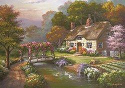 Къщата с рози - Сонг Ким (Sung Kim) - пъзел