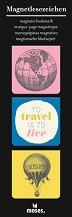 Магнитни разделители за книги - Travel -