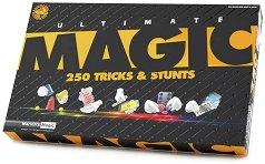 250 върховни магически трикове - Комплект за фокуси -