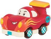 Усмихната състезателна кола -