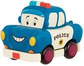 """Усмихната полицейска кола - Детска играчка от серията """"B Toys"""" - играчка"""