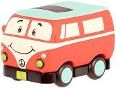"""Усмихнат ретро автомобил - Детска играчка от серията """"B Toys"""" - играчка"""