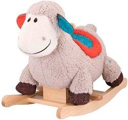 """Люлееща се овчица - Детска дървена играчка от серията """"B Toys"""" - играчка"""