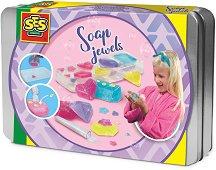 Направи сама - Блестящи сапуни - Творчески комплект -