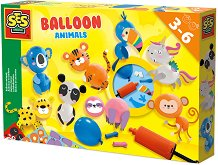 Направи сам - Животни от балони - Творчески комплект -