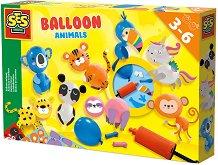 Направи сам - Животни от балони -
