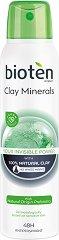 Bioten Clay Minerals 48H Antiperspirant - Спрей дезодорант с глина - душ гел