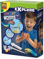 Лаборатория за шарени червеи - играчка