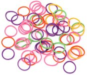 Цветни гумени ластици ∅ 15 mm