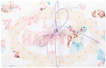 Поздравителна картичка - Лола и Миа -