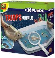 """Светът на триопите - Образователен комплект от серията """"Откривател"""" - образователен комплект"""