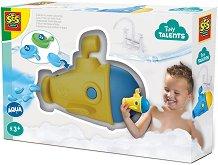 Подводница с цветна диря - Детска играчка за баня -