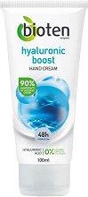 Bioten Hyaluronic Boost Hand Cream - Крем за ръце с хиалуронова киселина - фон дьо тен