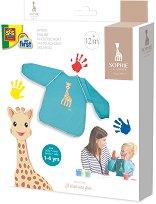 Творческа престилка с ръкави - Жирафчето Софи -