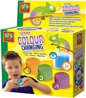 Термо пластилин - Комплект от 4 цвята