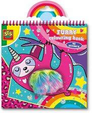 Furry - Книжка за оцветяване -