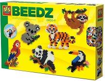 Мозайка от мъниста - Животни от джунглата - Творчески комплект -
