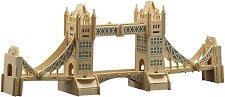 Тауър Бридж - Дървен 3D пъзел -