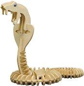 Кобра - Дървен 3D пъзел -