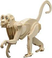 Маймуна - Дървен 3D пъзел -
