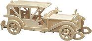 Ретро автомобил - Sunbeam - Дървен 3D пъзел -