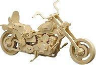 Мотор - Харли Дейвидсън - Дървен 3D пъзел -