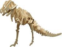 Скелет на Тиранозавър Рекс - Дървен 3D пъзел -