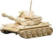 Танк - Panzer - Дървен 3D пъзел -