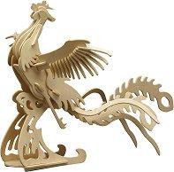 Феникс - Дървен 3D пъзел -