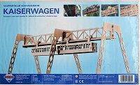 Вуперталскта железница - Дървен 3D пъзел -