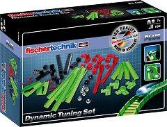 Писта за стъклени топчета - Детски сглобяем комплект - играчка