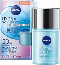 Nivea Hydra Skin Effect Pure Hyaluron Insta Mask - Хидратиращ серум за лице с хиалуронова киселина - фон дьо тен