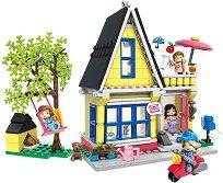 """Къща за почивка - Детски конструктор от серията """"Wonder Builders"""" -"""